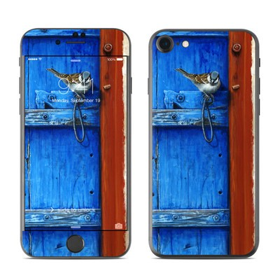 Apple iPhone 7 Skin - Blue Door