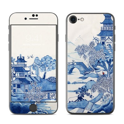 Apple iPhone 7 Skin - Blue Willow