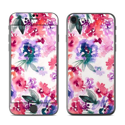 Apple iPhone 7 Skin - Blurred Flowers