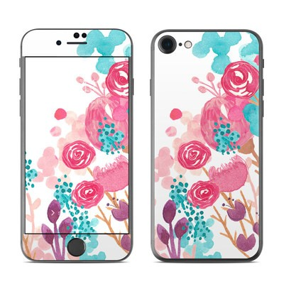 Apple iPhone 7 Skin - Blush Blossoms