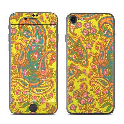 Apple iPhone 7 Skin - Bombay Chartreuse