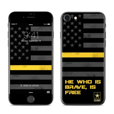 Apple iPhone 7 Skin - Brave is Free
