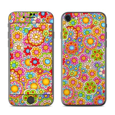 Apple iPhone 7 Skin - Bright Ditzy