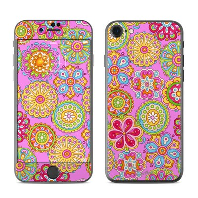 Apple iPhone 7 Skin - Bright Flowers