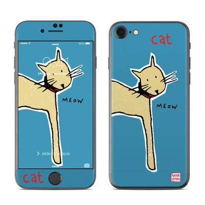 Apple iPhone 7 Skin - Cat