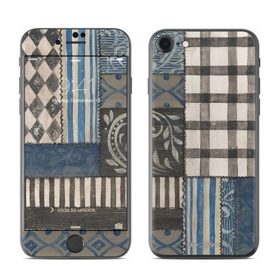 Apple iPhone 7 Skin - Country Chic Blue