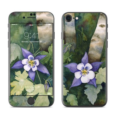 Apple iPhone 7 Skin - Colorado Columbines