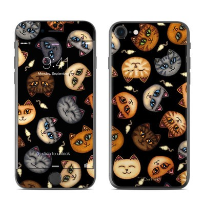 Apple iPhone 7 Skin - Cat Faces