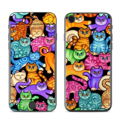 Apple iPhone 7 Skin - Colorful Kittens