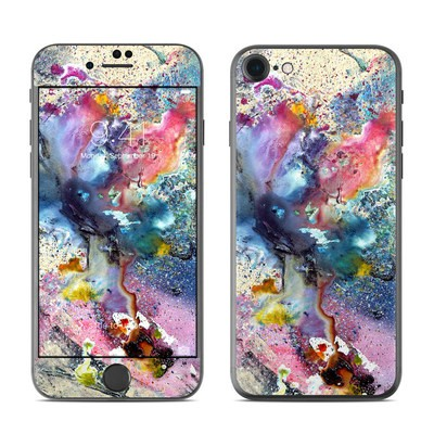Apple iPhone 7 Skin - Cosmic Flower