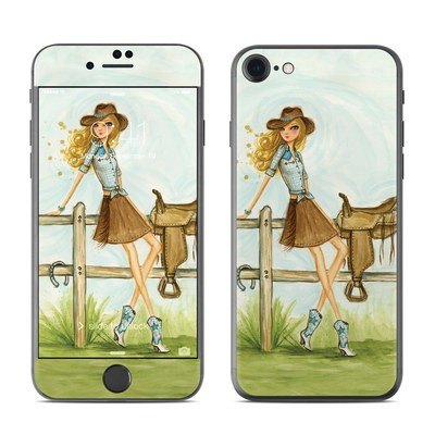 Apple iPhone 7 Skin - Cowgirl Glam