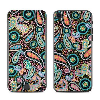 Apple iPhone 7 Skin - Crazy Daisy Paisley