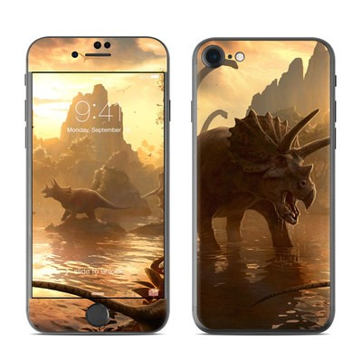 Apple iPhone 7 Skin - Cretaceous Sunset