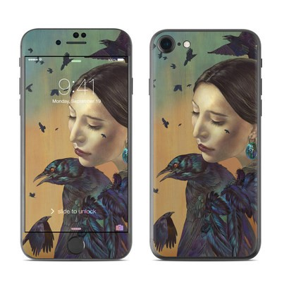 Apple iPhone 7 Skin - Crow Maiden