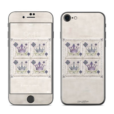Apple iPhone 7 Skin - Purple Crown