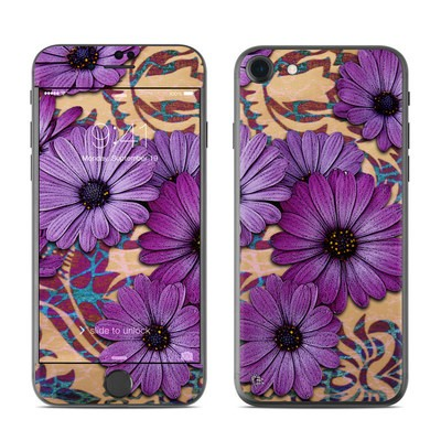 Apple iPhone 7 Skin - Daisy Damask
