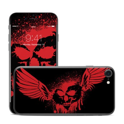 Apple iPhone 7 Skin - Dark Heart Stains
