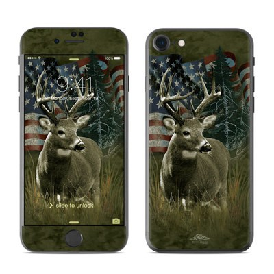 Apple iPhone 7 Skin - Deer Flag