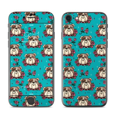 Apple iPhone 7 Skin - Bulldogs and Roses