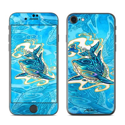 Apple iPhone 7 Skin - Dolphin Daydream
