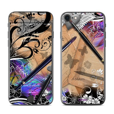 Apple iPhone 7 Skin - Dream Flowers