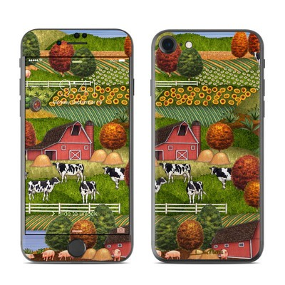 Apple iPhone 7 Skin - Farm Scenic