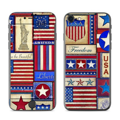 Apple iPhone 7 Skin - Flag Patchwork