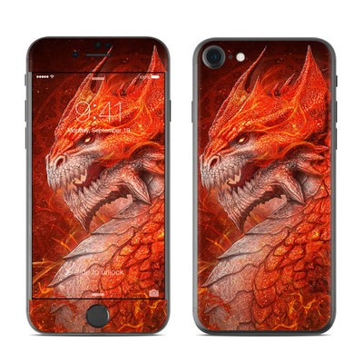Apple iPhone 7 Skin - Flame Dragon