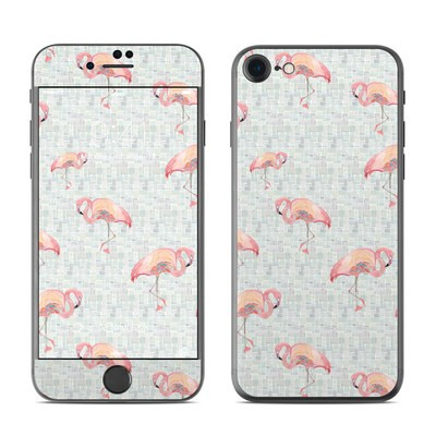 Apple iPhone 7 Skin - Flamingo Mosaic