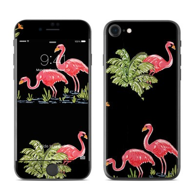 Apple iPhone 7 Skin - Flamingos