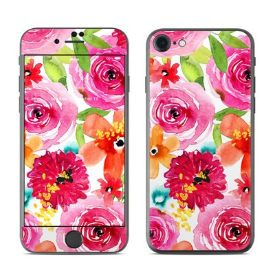 Apple iPhone 7 Skin - Floral Pop