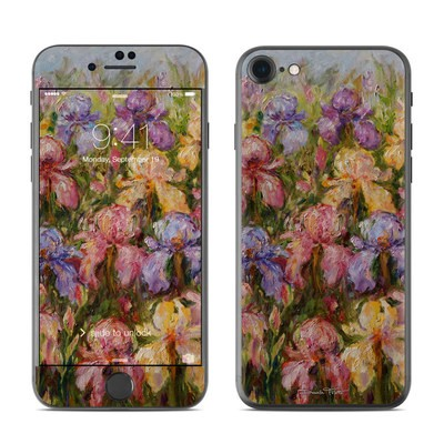 Apple iPhone 7 Skin - Field Of Irises