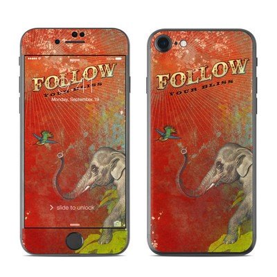 Apple iPhone 7 Skin - Follow Your Bliss