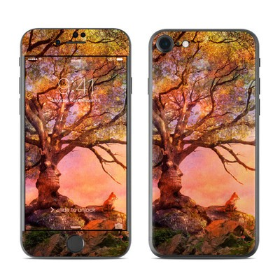 Apple iPhone 7 Skin - Fox Sunset