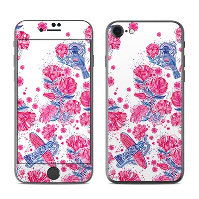 Apple iPhone 7 Skin - Freedom Flowers