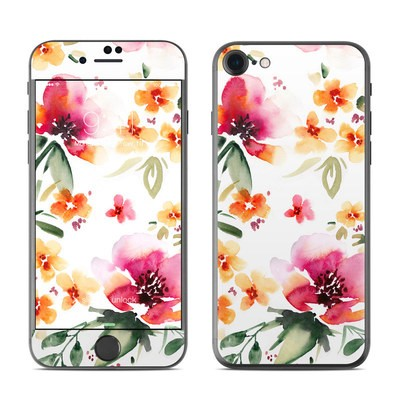 Apple iPhone 7 Skin - Fresh Flowers
