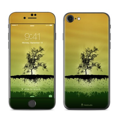 Apple iPhone 7 Skin - Flying Tree Amber