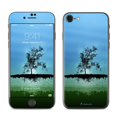 Apple iPhone 7 Skin - Flying Tree Blue