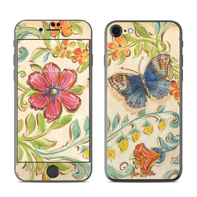 Apple iPhone 7 Skin - Garden Scroll