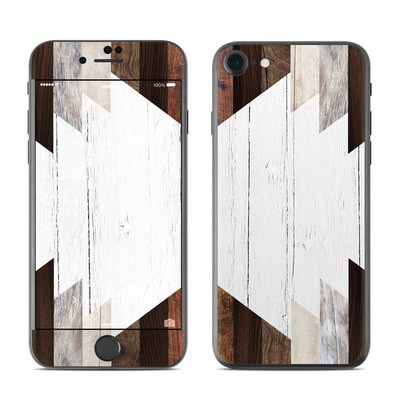 Apple iPhone 7 Skin - Geo Wood