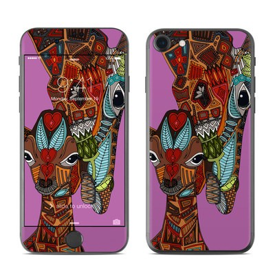 Apple iPhone 7 Skin - Giraffe Love
