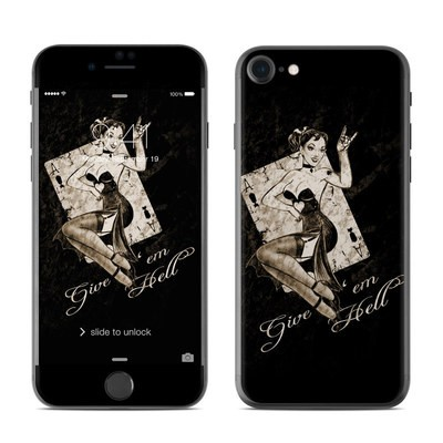 Apple iPhone 7 Skin - Give Em Hell