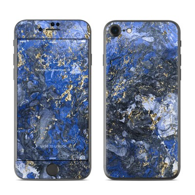 Apple iPhone 7 Skin - Gilded Ocean Marble