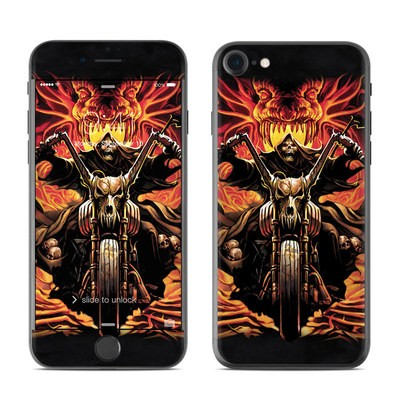 Apple iPhone 7 Skin - Grim Rider