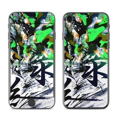 Apple iPhone 7 Skin - Green 1