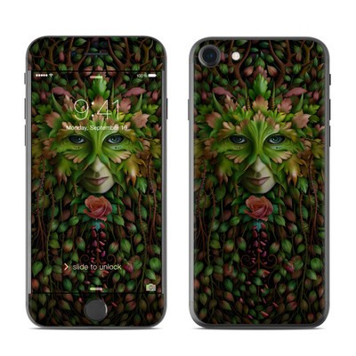 Apple iPhone 7 Skin - Green Woman