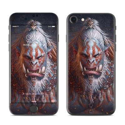Apple iPhone 7 Skin - Gruddur Orangefist
