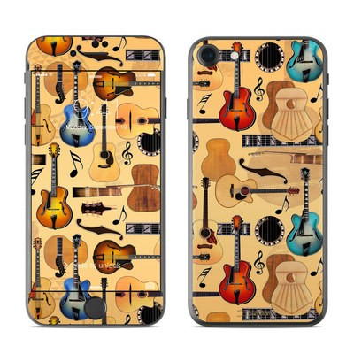 Apple iPhone 7 Skin - Guitar Collage