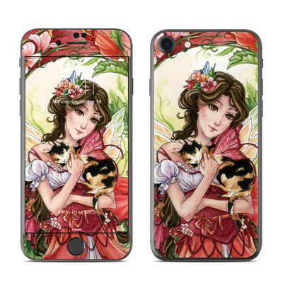 Apple iPhone 7 Skin - Hibiscus Fairy
