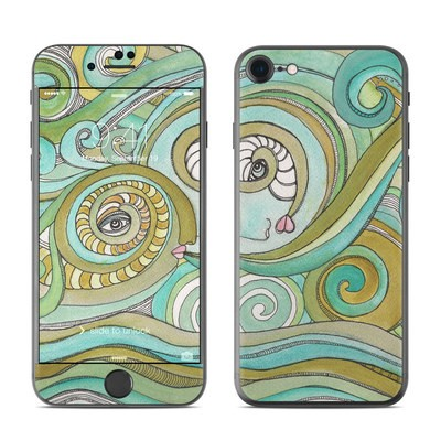 Apple iPhone 7 Skin - Honeydew Ocean